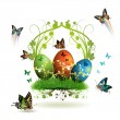 Easter card — Stock Vector #5406736