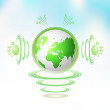 Royalty-Free Stock Vector Image: Eco Green Earth