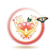 Valentine's day icon — Stock Vector