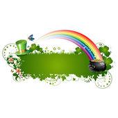 St. Patrick background — Stock Vector
