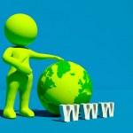 World wide web — Stock Photo