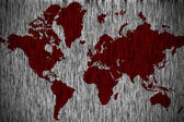 Grunge earth map — Stock Photo