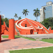 Jantar mantar wide view - Stock Photo