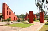 Jantar mantar red walls — Stock Photo