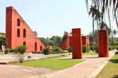 Jantar mantar red walls — Stock Photo
