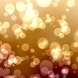 Stock Photo: Golden bokeh