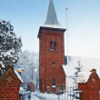 Church in winter — Stock Photo