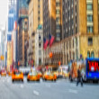 Stock Photo: Street life at Manhattan - New York City