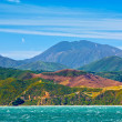 Coast panorama - Wellington, New Zealand — Stock Photo