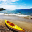 Beach - Karaka Bay, New Zealand — Stock Photo