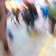 Photo: City Life - motion blurred illustration