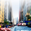 City life at Manhattan — Stock Photo