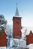 Church in winter — Стоковое фото