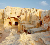 Tombs of the Kings (Paphos) Cypres — Stock Photo