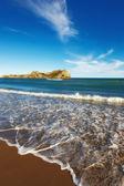 素晴らしいビーチ - ニュージーランド — ストック写真