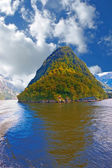 Milford Sound. South Island. New Zealand — Stock Photo
