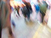 City Life - motion blurred illustration — Stock Photo
