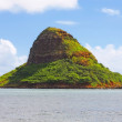 Small Hawaiian island - Stock Photo