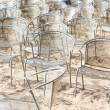 Chairs - nobody there — Stock Photo