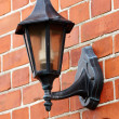 Stock Photo: Old time wall lamp