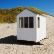 Stock Photo: Small beach huts - Denmark