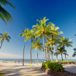 Waikiki Beach - Oahu, Hawaii — Stock Photo #6543548