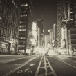 MANHATTAN AT NIGHT — Stock Photo #6544330