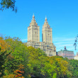 Central Park in the fall - Stock Photo