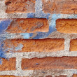 A photo of a very old brick wall — Photo