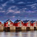 At the harbor - Lofoten, Norway — Stock Photo #6546869