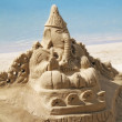 Sand Castle art — Stock Photo