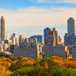 Stock Photo: Central Park in the fall - New York, USA