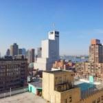 New york - in un mattino nebbioso — Foto Stock