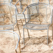 Foto de Stock  : Chairs - nobody there