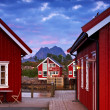 At the harbor - Lofoten, Norway — Stock Photo #6547214