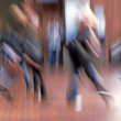 Motion and lens burred image of moving — Stockfoto #6547698