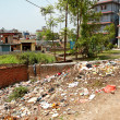 Editorial: Filth in streets of Kathmandu, Nepal — Stock Photo #6548326