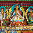 Religious figures in Tibetan Buddhisme, Tibet - Stock Photo