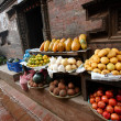 Fruits in Kathmandu — Stock Photo