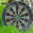 Garden play - dart — Stock Photo