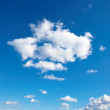 Royalty-Free Stock Photo: A photo of a beautiful cloud and the blue sky