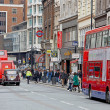 A grey day in Oxford Street, London — Stock Photo