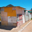 Editorial photo: Poor South African township — Stock Photo