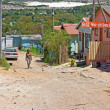 Editorial photo: Poor South African township - Stock fotografie