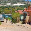 Documentary: Poor African township - Stock fotografie
