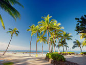 Waikiki Beach - Oahu, Hawaii — Stock Photo