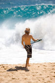 SUNSET BEACH, HAWAII — Stock Photo