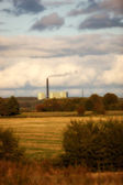 Factory in the countryside — Stock Photo