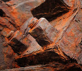 Hierro oxidado - útil como fondo — Foto de Stock