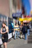 Street life in New York City - everyday life — Stock Photo